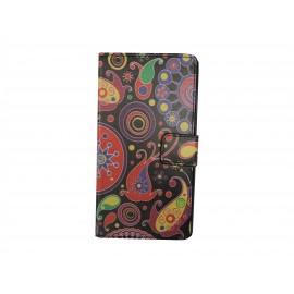 Pochette pour Sony Xperia M2 cachemire+ film protection écran offert