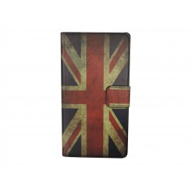 Pochette pour Wiko Cink Peax 1-2 Angleterre/UK+ film protection écran