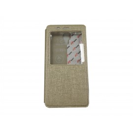 Pochette Inote pour Xiomi MI4 or + film protection écran