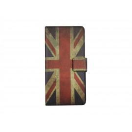 Pochette pour Samsung A3 drapeau Angleterre/UK+ film protection écran