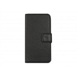 Pochette pour Samsung A3 noire + film protection écran